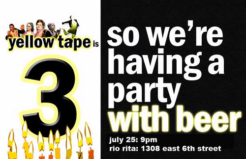 Yellow Tape Flyer