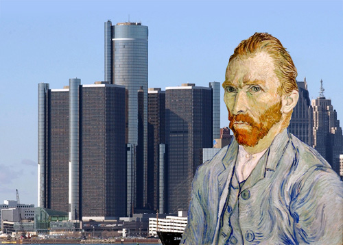 Vincent van Gogh in Detroit