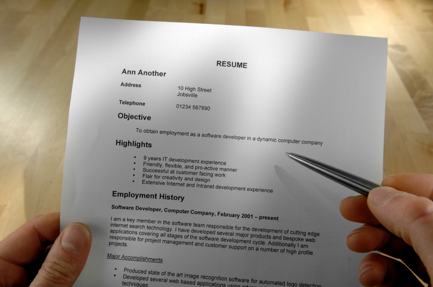 Press Kit Resume