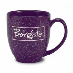 A custom coffee mug perfect for The Borgata