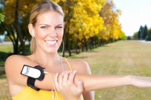 Exercising with iPod
