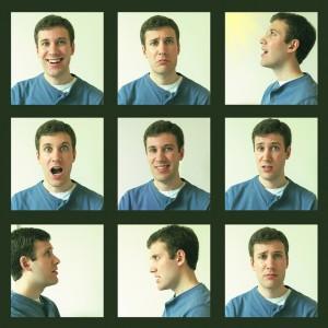 Photos demonstrating various human emotions