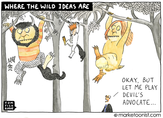 Where the Wild Ideas Are
