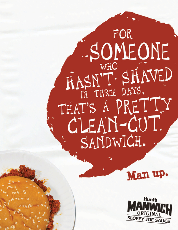 Manwich Ad with Contractions