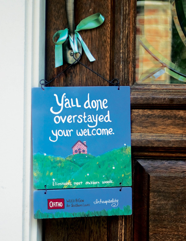 Door Hanger Written for Southern Audience