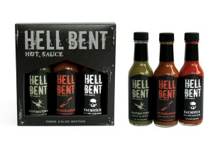Hell Bent Hot Sauce Branding