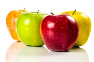 Variety of Assorted Apples