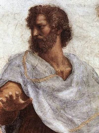 Aristotle devloped the concept of persuasion through the use of credibility.
