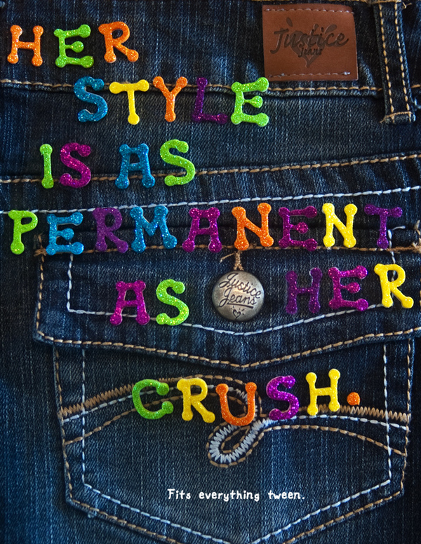 Example of Ethos in Jeans Advertising