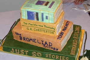 Book-Themed Cake - Example of Good Business Storytelling