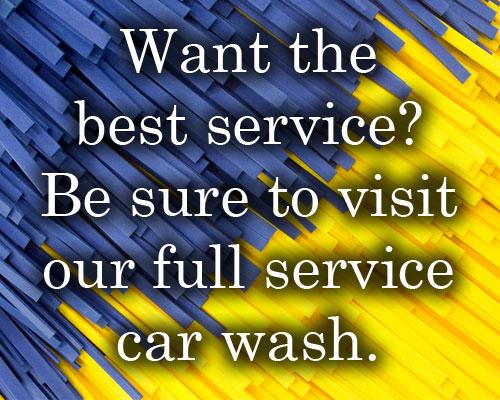 Best Service/Full Service Cliche Example