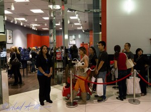Line of Black Friday Customers