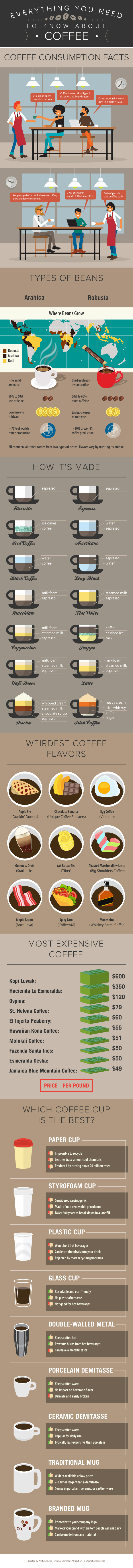 Coffee Infographic: Everything You Need To Know About Coffee