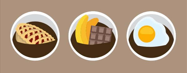 Cool Coffee Flavors - Apple Pie, Chocolate Banana, and Egg Coffee