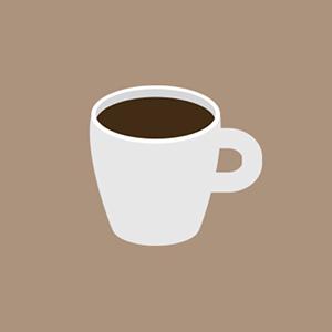 Porcelain Coffee Mug (Demitasse)
