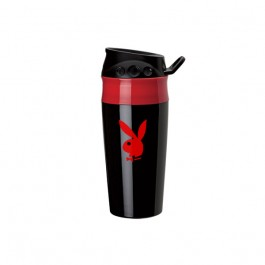 Black / Red 16 oz. Double Wall Two-Tone Tumbler