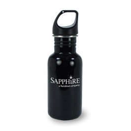 Black 16.9 oz Versatile Jr. Aluminum Tumbler Water Bottle