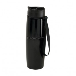 Black 16 oz Engraved Companion Vacuum Travel Tumbler