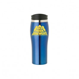 Blue / Black 16 oz Stainless Steel Everyday Tumbler