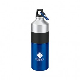 Blue / Silver 25 oz. Clean-Cut Aluminum Water Bottle