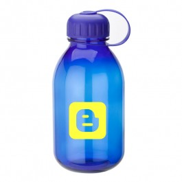 Blue 32 oz. Twist Top Poly Water Bottle