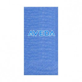 Blue Moire Guest Towel
