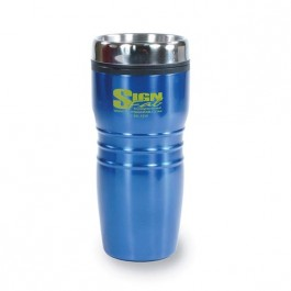 Blue 17 1/2 oz Saturn Stainless Tumbler