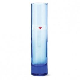 Blue 6 3/4 oz Blue Bud Vase