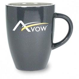 Charcoal 13 oz Miami Ceramic Coffee Mug