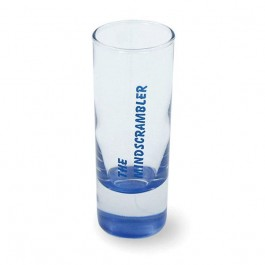Clear / Blue 2 1/2 oz Neonware Glass Shooter