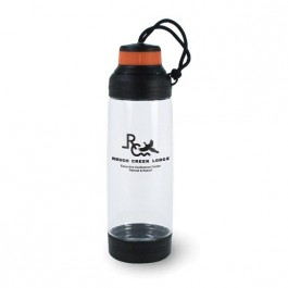 Clear / Orange 18 oz Prudhoe Bay Water Bottle