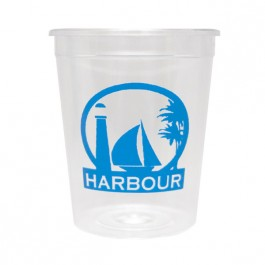 Clear 2 oz Hard Plastic Cup