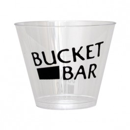 Clear 9 oz Hard Plastic Cup