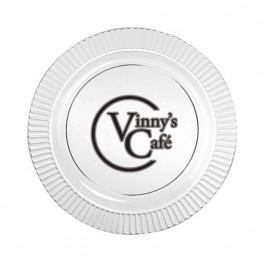 """Clear 7.5"""" Premium Plastic Plate"""