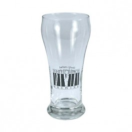 Clear 12 oz Pilsner Beer Glass