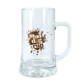 Clear 17 1/2 oz Maxim Glass Beer Mug
