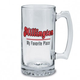 Clear 25 oz Glass Beer Stein