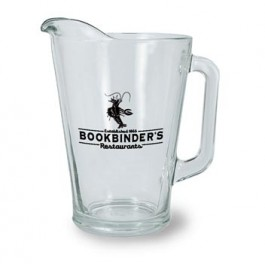 Clear 60 oz Glass Beer Pitcher