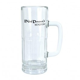 Clear 22 oz Glass Beer Mug