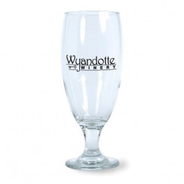 Clear 16 oz Hops Pilsner Beer Glass