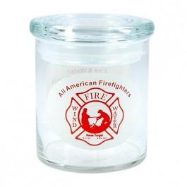 Clear 22 oz Cylinder Glass Candy Jar