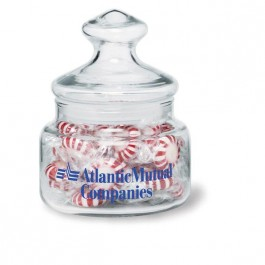 Clear 15 oz Glass Candy Jar