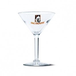 Clear 6 oz Cocktail Martini Glass