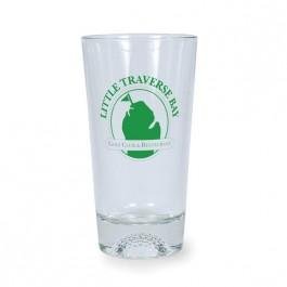 Clear 16 oz Golf Sports Cooler Glass