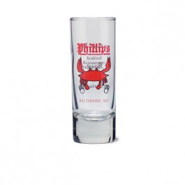 Clear 2 1/2 oz Glass Shooter