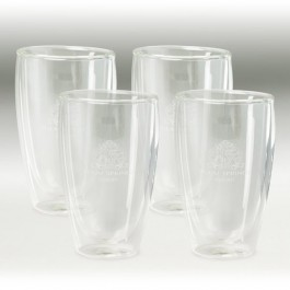 Clear 16 oz Binara 4 Piece Gift Set
