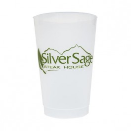 Frosted 24 oz Shatterproof Cup