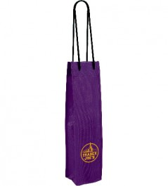 Grape Non-Woven Single Wine Bottle Bag