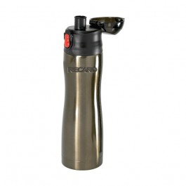 Graphite / Black 15 oz Engraved Profile Insulated S/S Vacuum Water Bottle