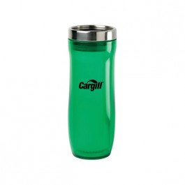 Green / Stainless 12 oz Column Tumbler